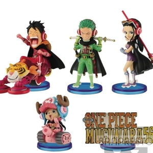 <b> ONE PIECE World Collectable Figure -MUGIWARA56- vol.1 All 5Type Set(18년7월발매)